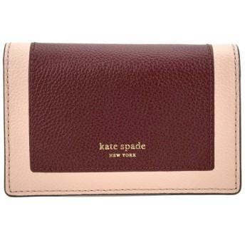 ケイトスペード(kate spade) コインケース MARGAUX SMALL KEY RING WALLET PWRU7157 626 バーガンディ系/ピンク