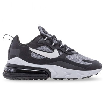 Nike W Air Max 270 React [AT6174-001] Women Casual Shoes Black/Vast Grey/US 7.5