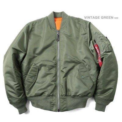 【Brand T】日版 ALPHA INDUSTRIES MA-1 TIGHT版*軍綠色*合身窄版*飛行外套*MA1