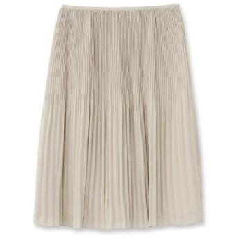 UNTITLED(アンタイトル)【洗える】ラフィネジョーゼットプリーツスカート