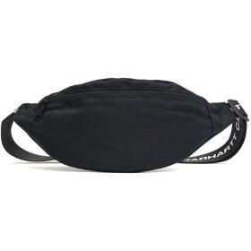 [カーハート ワークインプログレス]Carhartt WIP BRANDON HIP BAG ウエストバッグ I026872 Black/8900