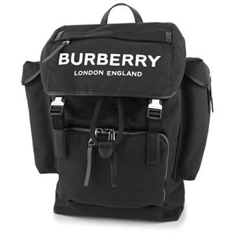 バーバリー(BURBERRY) リュックサック LOGO PRINT バックパック 8009265 A1189 ブラック 黒