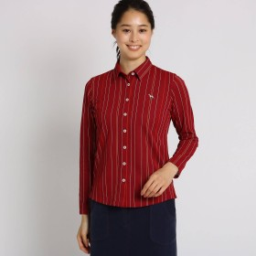 adabat(Ladies)(アダバット:レディース)/【吸水速乾】ストライプシャツ