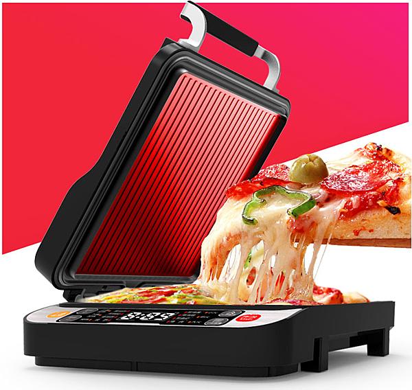 烤餅機烙餅鐺多功能小家電智能烙餅鍋電煎盤煎餅鍋110V