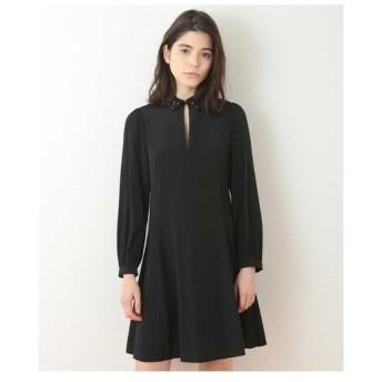 TARA JARMON / ドット刺繍ドレス