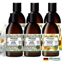 德國alkmene植萃精油潤髮乳250ml超值六入組(洋甘菊亮澤/金盞花修護兩款可選)