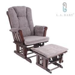 【L.A. Baby】多功能哺乳搖椅 兩色