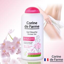法國黎之芙-溫和2合1沐浴私密清潔露250ml