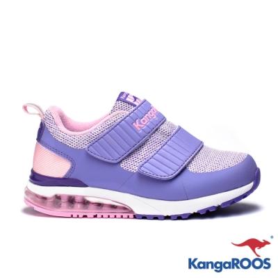 KangaROOS 美國袋鼠鞋 童 JOEY 氣墊跑鞋(紫)