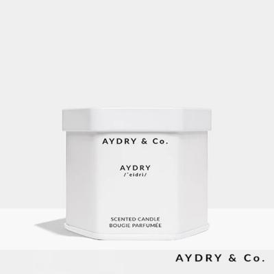 美國 AYDRY & CO. 品牌經典款 天然手工香氛 極簡純白錫罐 99g