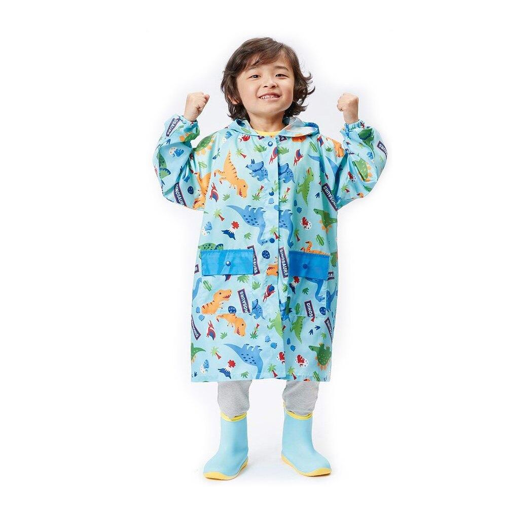 Skater 兒童雨衣 - 恐龍