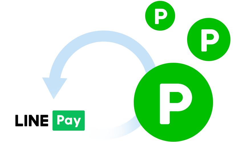 全国のLINE Pay加盟店でのお支払いにつかえる!