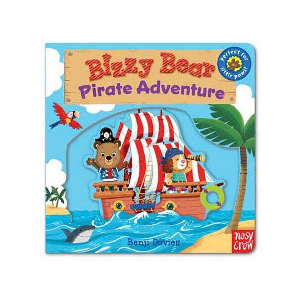 Bizzy Bear:Pirate Adventure 海盜冒險熊熊新奇操作書(美國版) 全館滿5千贈星寶貝防曬乳效期至21年11月