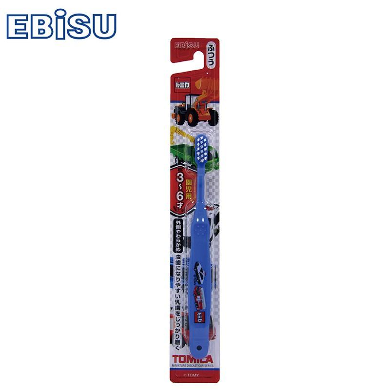 【EBiSU惠比壽】TOMICA 3~6歲兒童牙刷
