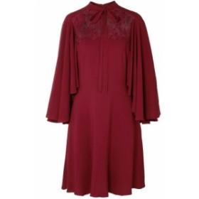 ジャンバティスタ バリ GIAMBATTISTA VALLI レディース ワンピース ワンピース・ドレス Pussy-bow guipure lace-paneled crepe dress Cla