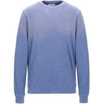 《セール開催中》ALTERNATIVE メンズ スウェットシャツ ブルーグレー M コットン 36% / レーヨン 34% / ポリエステル 30%
