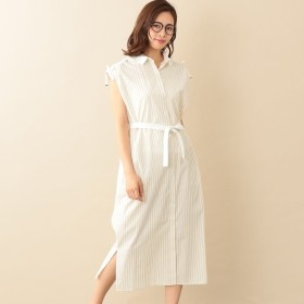 LE JOUR(ル ジュール)/【RELDI】STRIPE CLERIC SHIRT DRESS