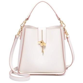 YSLBY ショルダーバッグ、女性のバッグファッションショルダーバッグショルダーバッグメッセンジャーバッグ大容量バケットバッグ (Color : Pink)