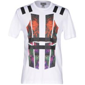 《セール開催中》LES HOMMES メンズ T シャツ ホワイト XL 100% コットン