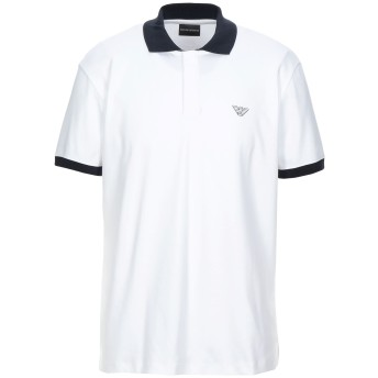 《セール開催中》EMPORIO ARMANI メンズ ポロシャツ ホワイト XS コットン 100%