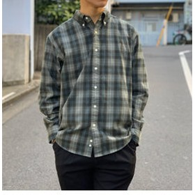 【FREDY & GLOSTER:トップス】【Gymphlex / ジムフレックス】ボタンダウンシャツ #J-0643VHC