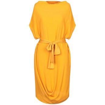 《セール開催中》MARIELLA ROSATI レディース ミニワンピース&ドレス オークル 40 レーヨン 100% / ポリウレタン