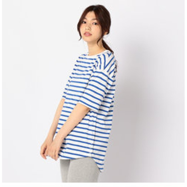 【FREDY & GLOSTER:トップス】半袖ボーダーTシャツ