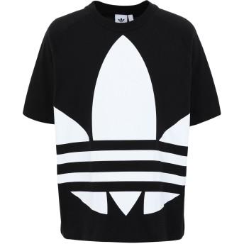 《セール開催中》ADIDAS ORIGINALS メンズ T シャツ ブラック M コットン 100% BG TREFOIL TEE