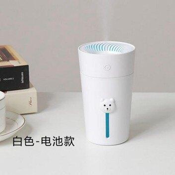 加濕器 usb迷你加濕器可充電車載辦公室學生宿舍桌面靜音小型無線大噴霧【伊卡萊】  聖誕節禮物