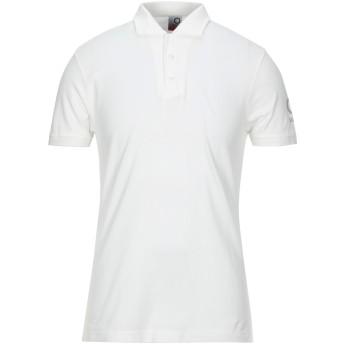 《セール開催中》SUNS メンズ ポロシャツ ホワイト M コットン 95% / ポリウレタン 5%