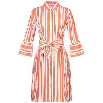 《セール開催中》NOUVELLE FEMME レディース ミニワンピース&ドレス オレンジ 42 コットン 100%