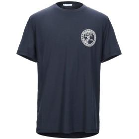 《セール開催中》VERSACE COLLECTION メンズ T シャツ ブルーグレー S コットン 100%
