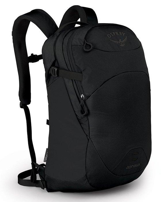 【Osprey 美國】APHELIA 26 電腦背包 15吋筆電背包 城市背包 旅行背包 女款 黑色〈容量26L〉(Aphelia26)