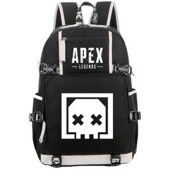 Apex legends リュック・バックパック スクールバックパック旅行バッグカジュアルバックパックスタイリッシュなスポーツデイパックキャンプハイキングバッグ (Color : A06, Size : 30 X 15 X 44cm)