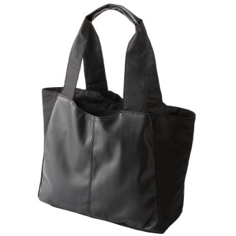 ベルーナ 軽量ポケットいっぱい多機能バッグ ブラック 1 レディース