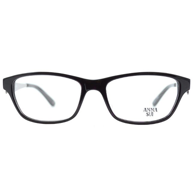 【ANNA SUI】安娜蘇 金屬鏤空舞蝶簡約光學眼鏡(粉紫) AS537-785