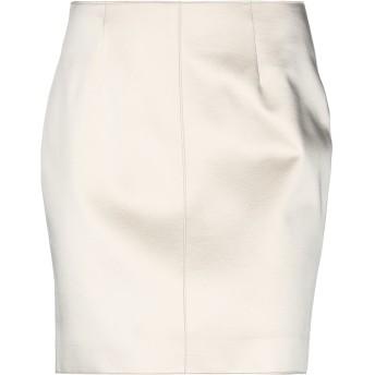 《セール開催中》BLUMARINE レディース ひざ丈スカート アイボリー 42 ウール 58% / アセテート 27% / レーヨン 15%