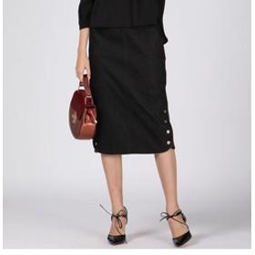 【J Lounge:スカート】ワンダーシェイプタイトスカート