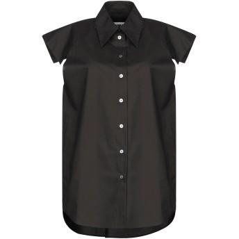 《セール開催中》MM6 MAISON MARGIELA レディース シャツ ブラック 38 コットン 100%