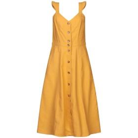 《セール開催中》SESSUN レディース 7分丈ワンピース・ドレス オークル M コットン 65% / リネン 35%