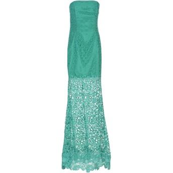《セール開催中》SOANI レディース ロングワンピース&ドレス グリーン 40 ポリエステル 100%
