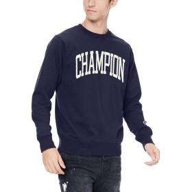 [チャンピオン] クルーネックスウェットシャツ C3-Q024 メンズ ネイビー 日本 M (日本サイズM相当)