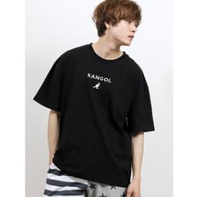 【semantic design:トップス】カンゴール/KANGOL ワンポイント クルーネック半袖Tシャツ