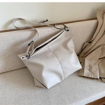 ★新製品の入荷★韓国ファッション 初秋新作!ワイルド 大容量 ソフト クロスバッグ ファッション トートバッグ