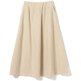 (レイビームス)Ray BEAMS/スカート アシンメトリー タック ロング フレア スカート レディース BEIGE 0