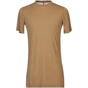 《セール開催中》RICK OWENS メンズ T シャツ カーキ XS レーヨン 88% / シルク 12%