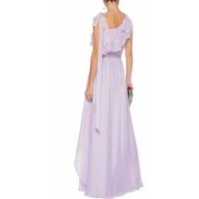 レイチェル ゾー RACHEL ZOE レディース パーティードレス ワンピース・ドレス Susanna bow-detailed ruffled organza gown Lilac