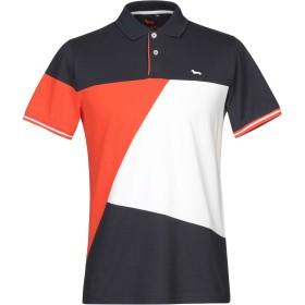 《セール開催中》HARMONT & BLAINE メンズ ポロシャツ ダークブルー S コットン 100%