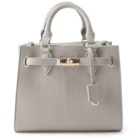 クチュールブローチ ベルテットミニボストン レディース グレー(012) 00 【Couture Brooch】