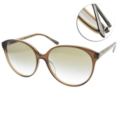 OLIVER PEOPLES太陽眼鏡  透棕-漸層綠#BROOKTREE 16258E